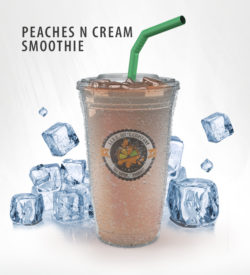 Peaches N Cream Smoothie