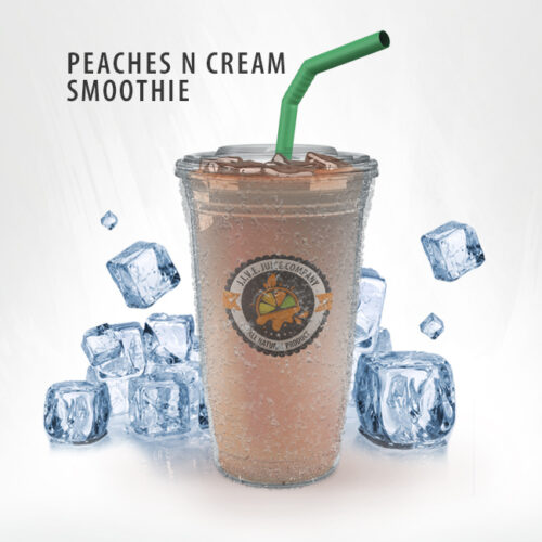 Peaches N Cream Smoothie