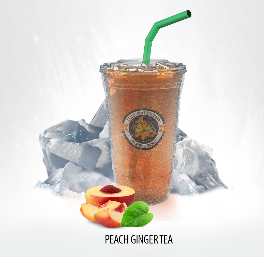 Peach Ginger Tea